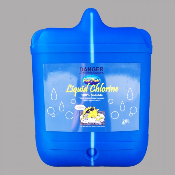 Hamilton Chemicals - Pool-Treat Liquid Chlorine